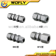 Racor de compresión racor de tubo de latón