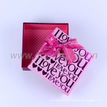 Custom wedding candy packaging gift box