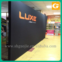 Free Standing Display Frame Lighting Pop Up Banner Stand