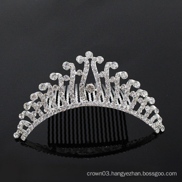 Women Rhinestone Comb Crystal Bridal Hair Combs