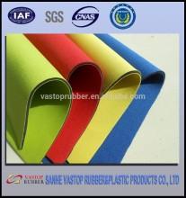 Beige smooth skin coloured neoprene sheets