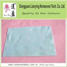 Fábrica directamente de aguja de poliéster perforado de tela no tejida