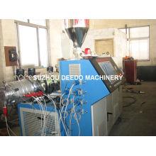 Máquina extrusora de producción de perfiles de plástico PVC