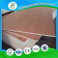 3mm 1.2m x 2.4m Bintangor Plywood Poplar Core