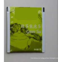 Bolsa de té verde (bolso de té de la hoja)