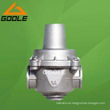 Válvula reductora de presión de tubería de derivación de tipo diafragma de acción directa (YZ11X)