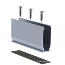 Support / support en aluminium de toit de panneau solaire de picovolte / montage solaire en aluminium