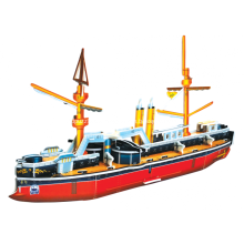 3D Schlachtschiff Ting Yuen Puzzle