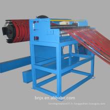 Découpe et coupe longueur spécifiée vitesse automatique précision aluminium coupé à longueur fournisseur de machine