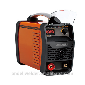 Portable electric welding machine, three phase, DC inverter, 250A