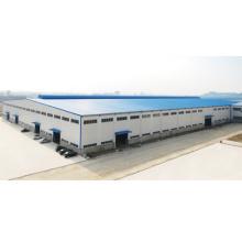 Construção de armazém de fabricação de aço pré-fabricada