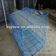 Jaula de conejo revestida de PVC plegable