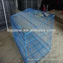 Cage pliante en lapin enduite de PVC
