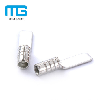 Terminaux d'extrémité de fil électrique non-isolés de lame de Mogen usine