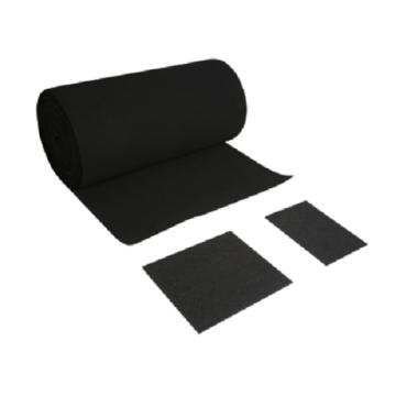 Фильтрующий материал с активированным углем