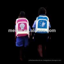 La mochila coserá tuberías reflectantes para mayor seguridad