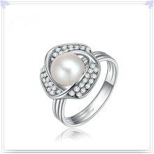 Mode-Zusätze Perlen-Schmucksache-Legierungs-Ring (AL2049)