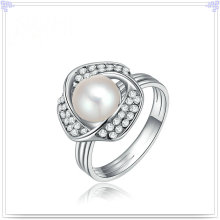 Accesorios de moda Anillo de aleación de joyería de perlas (AL2049)