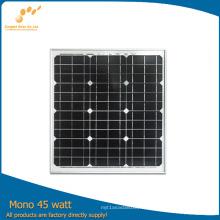 Panneau solaire à rendement élevé 45W / 145W / 245W (TUV, ISO, MCS) (SGM-45W)
