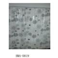 Cortina de chuveiro de PVC, Super Clear, Qualidade de Alcance