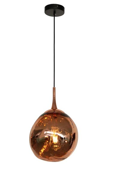 Rose Gold Spherical Simple Light