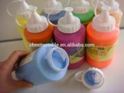 500ml heat resistant acrylic paint, bright colour acrylic paint, fast drying acrylic paint, EN71-3,EN71-9