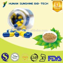 Protector de hígado de alimentos funcionales Extracto de cardo de leche cápsulas de gelatina dura
