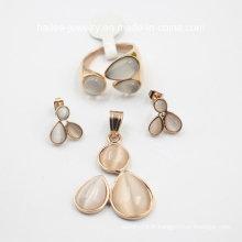 Bijoux fantaisie à la mode en acier inoxydable