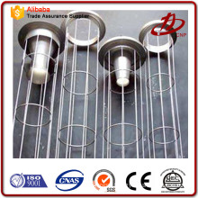 Dust filter bag cage