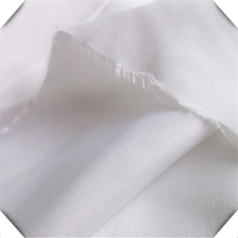 100% Woven Cotton Bleached White Nurse Uniform Fabric