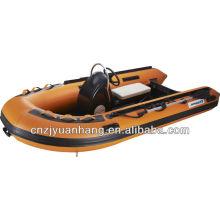 4.2m жесткие ребра надувной лодки с консоли