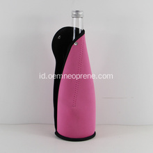 Single 750ml neoprene mengikat botol sampanye pembawa