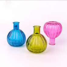 Wholesale empty 7oz 200ml colorful aroma reed diffuser glass bottle