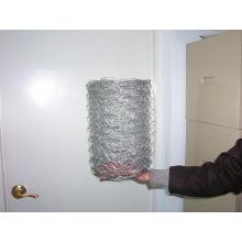 Malla de alambre galvanizada del pollo / red de alambre hexagonal Malla de alambre hexagonal revestida de PVC / red de alambre del ganado