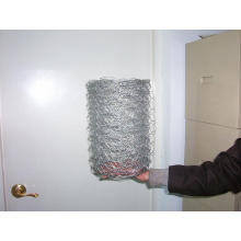 Rede de arame galvanizada da galinha / rede de fio sextavada PVC Rede de arame sextavada revestida / rede de fio dos rebanhos animais