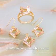 conjunto de joyas de oro de la boda árabe de la boda