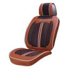 Car Seat Cover 3D Viscose Fabric Ice Silk Velor Brown