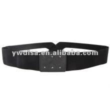 Cinturón elástico del corchete de la mujer sin hebilla