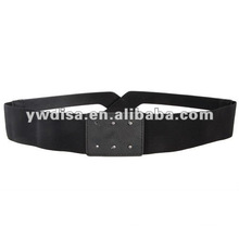 Woman Elastic Clasp Belt With No Buckle