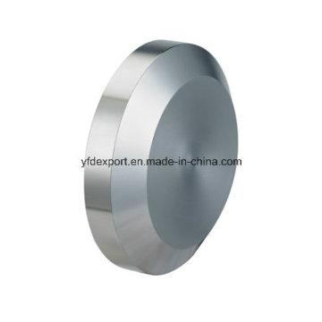 Нержавеющая сталь 304 316L Санитарно-твердая торцевая крышка
