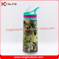 700ml High quality Plastic Sports staw drinking bottle (KL-7125)