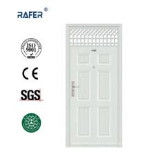 Puerta de acero alta / puerta de acero con ventana de aire (RA-S107)
