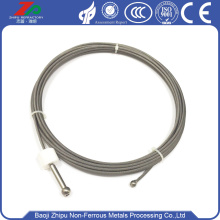 W1 dia 1.8mm tungsten wire rope