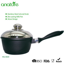 Die Casting Black Nonstick Kitchen Sauce Pan