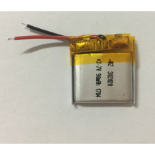 90mAh Lithium Polymer Battery For Wireless Headset (LP2X2T3)