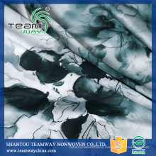 Printing Services 100% Polyester Satin Faric for dress