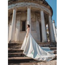 Bridal wedding dress pakistan vestidos de noiva populares com trem destacável feito no vestido de noiva de guangzhou