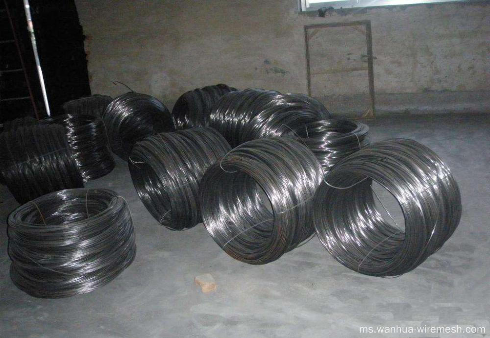 BWG20 0.9MM Soft Black Annealed Tie Wire