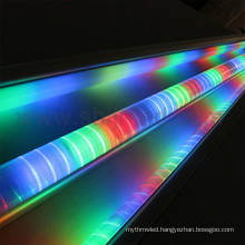 Addressable pixel led light bar digital Guardrail tube for bridge advertisement sign decoration Programmable Alu profile