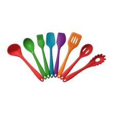 8 pcs silicone kitchen utensils set